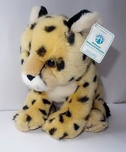 "New 12"" Wild Republic Plush Cheetah Leopard FRECKLES Mac Kids McMaster Hospital  - $14.89"