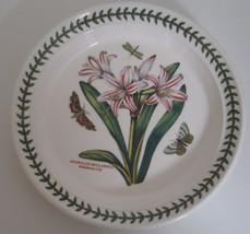 Portmeirion Botanic Garden Round Salad Plate Belladonna Lily dinnerware ... - $19.24