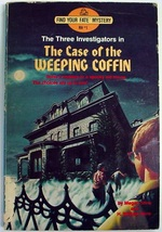 Three Investigators Find Your Fate Case of the Weeping Coffin No Barcode... - $11.00