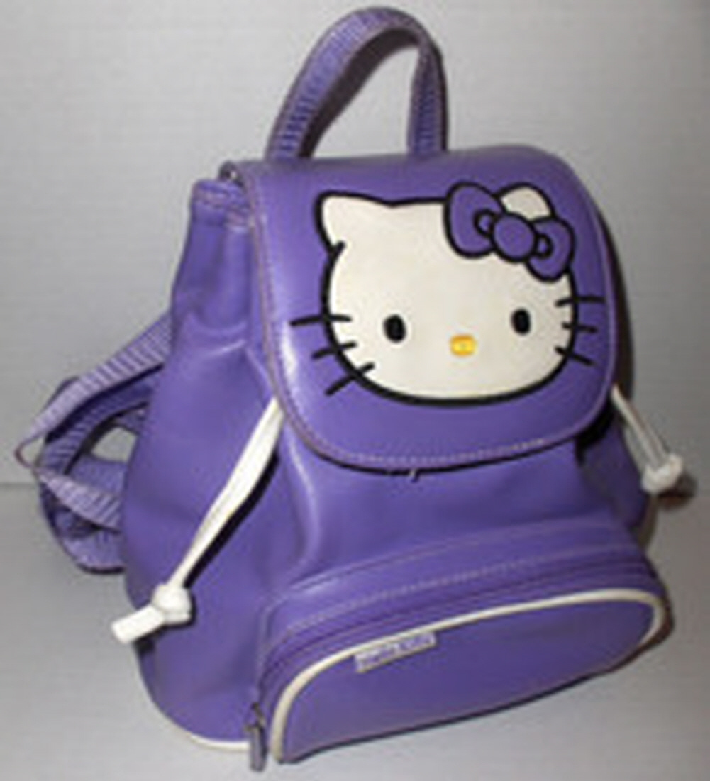 97eeee5522 Vintage Sanrio Hello Kitty Purple Backpack and 50 similar items