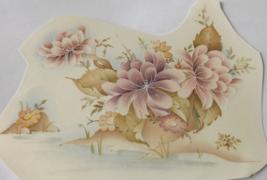 """4 Pink Water Lily Waterslide Ceramic Decals  5.5"""" - Vintage - $5.25"""
