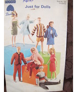 """Vintage Patons Knitting Patterns DOLLS BARBIE and BABY Dolls up to 18"""" - $9.99"""