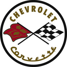 "Chevrolet Corvette 1952 Metal Sign 26"" Baked Enamel - $99.95"