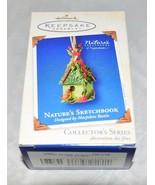 Hallmark 2003 NATURE'S SKETCHBOOK Ornament 1st in Series Marjolein Bastin - $10.69