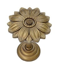 Urbanest Bloom Decor Drapery Medallion Holdback, 1 pc (Renaissance Gold) - $12.86