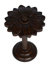 Urbanest Bloom Decor Drapery Medallion Holdback, 1 pc (Mahogany) - $12.86