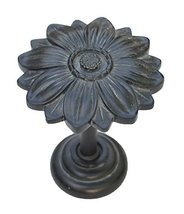 Urbanest Bloom Decor Drapery Medallion Holdback, 1 pc (Black Washed) - $12.86