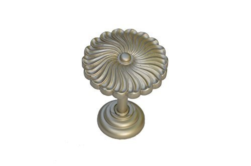 Urbanest Sierra Decor Drapery Medallion Holdback, 1 pc (Pewter) - $12.86