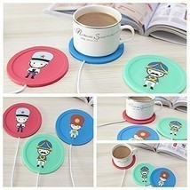 Cute USB Powered Cup Mug Electric Warmer Coffee Tea Drink Heater Pad Bev... - €6,98 EUR