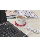 Electric USB Powered Cup Mug Warmer Coffee Drink Heater Beverage Cartoon... - ₨551.12 INR