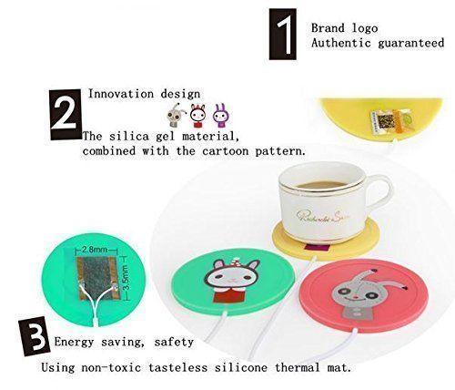 USB Powered Cup Mug Electric Warmer Coffee Tea Drink Heater Pad Beverage