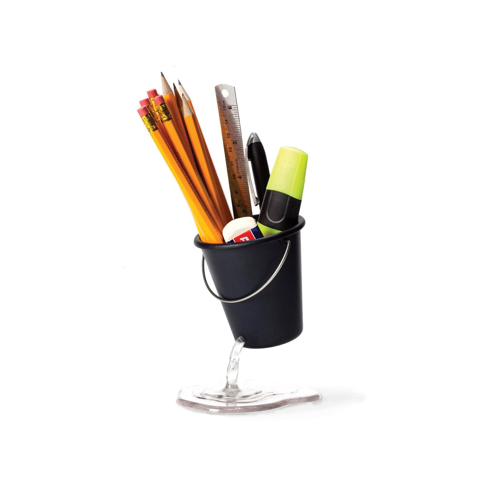 Pencil Holder Creative Design Floating Bucket Pen Case