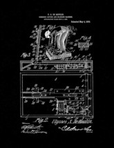 Combined Lifting And Spanking Machine Patent Print - Black Matte - $7.95+