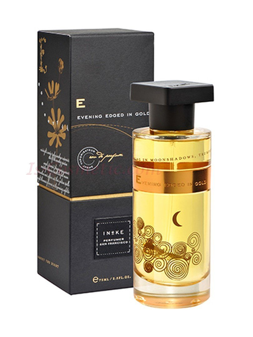 EVENING EDGED IN GOLD by INEKE 5ml Travel Spray Plum Cinnamon Saffron