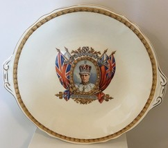 Vintage Edward VIII Coronation China Cake Plate May 12 1937 Creampetal G... - $22.99