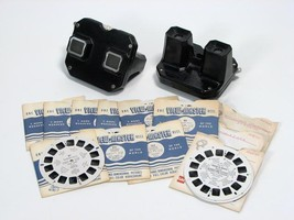 2 Vintage View-Masters with Reels: Mexico Parks Advertising! - $39.99