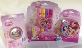 Disney Princess Theme Party Favors - YoYo, Tambourine, Flute!   - $7.94