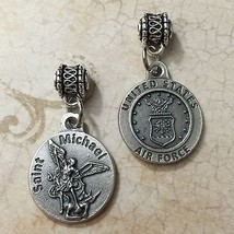 "Saint Michael Archangel Protection Medal Pendant United States Air Force 3/4"" - $6.99"