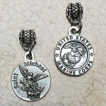 "Saint Michael the Archangel Medal Pendant Protect Protection Marine Corps 3/4"" - $14.99"