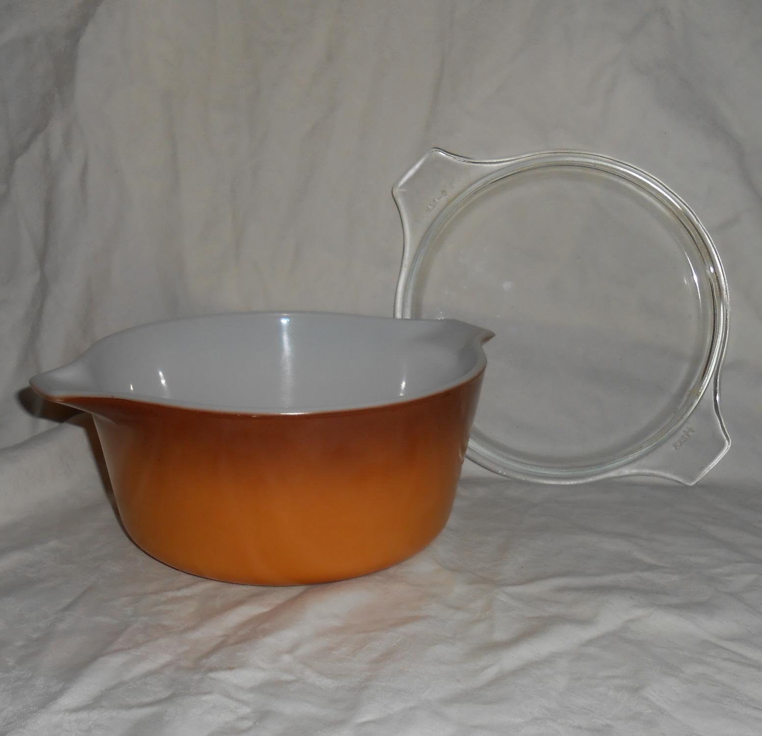 PYREX #474-B Butterscotch 1.5 Quart Old and 50 similar items