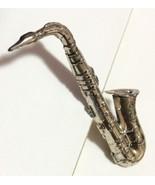 Saxophone Pin:  Vintage Beau Sterling Silver - $24.45