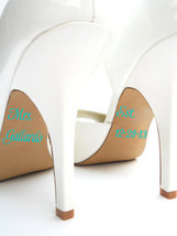 White Wedding Shoe clean teal rhinestone kitten bridal shoes low heels butterfly image 6