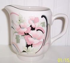 Sango-OUADRILLE-Anastasia Semi- Porcelain Cream Pitcher  By Andre Richards - $15.84