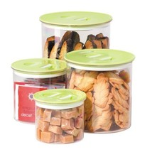 Oggi Stack 'N Store 4 Piece Canister Set, Green - $23.95