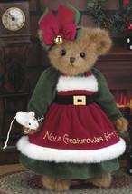 "Bearington Bears ""Christy Chrismouse"" 14"" Plush Bear- #173186 - NWT- 2013 - $39.99"