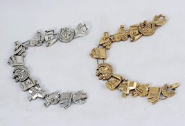 Charm Bracelet, College Graduate, Classic TOFA Slider ~ Gold or Silver Tone - $9.95
