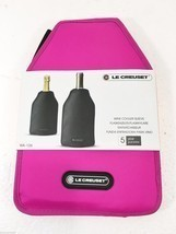 Le Creuset Wine Cooler Insulated Sleeve Pink WA... - $33.81
