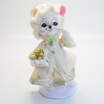 "6"" Elegant Mrs. Mouse by Annalee [Kitchen]"