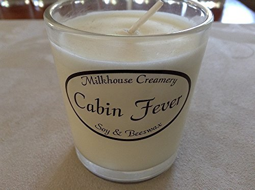 Milkhouse Creamery Soy Beeswax Scented Candle - Cabin Fever (2.2 Oz Butter Shot)