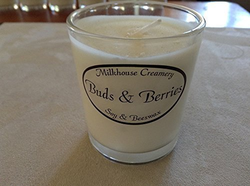 Milkhouse Candle Butter Shot Votive: Buds & Berries [Kitchen]