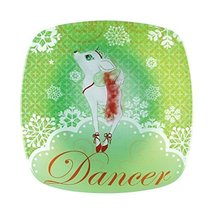 Department 56 Reindeer Tales Dancer Plate [Misc.]