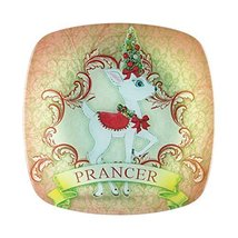 Department 56 Reindeer Tales Prancer Plate [Misc.]