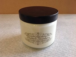 Milkhouse Creamery Soy Beeswax Scented Candle 5.3 Oz Traveler (Rhubarb Strawb...