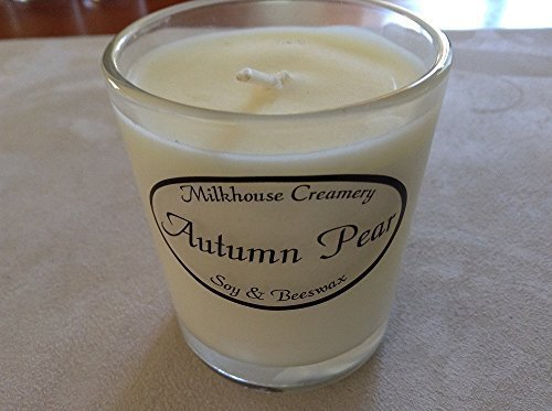 Milkhouse Candle Butter Shot Votive: Autumn Pear [Kitchen]