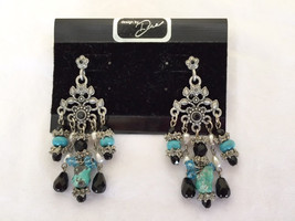 Design By Dana Floral Chandelier Post Earrings,... - $22.00