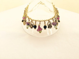 Design By Dana  Floral Crystal & Antique Purple... - $14.00