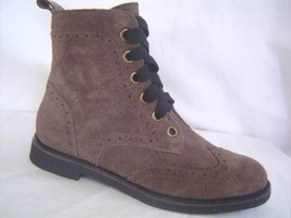 New Lucky Brand Brown Suede Boot 6 10 Shoes Neu braun WILDLEDER Schuhe 3... - $40.00