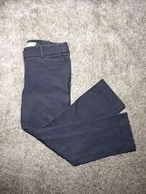 LOFT Petite Marisa Fit Grey Cropped Slacks Peti... - $20.79
