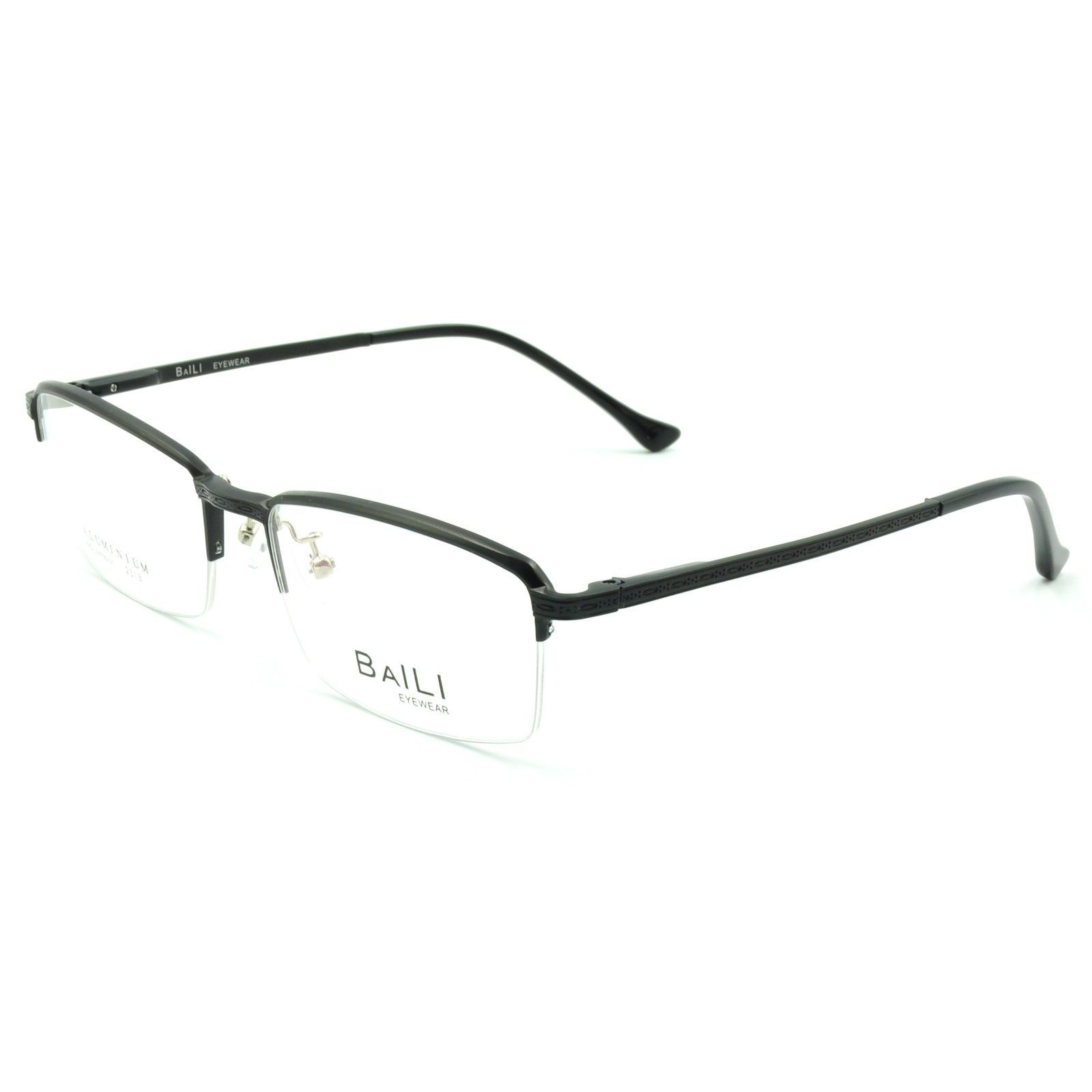 Rimless Eyeglass Frame Parts : New Mens Half Rimless Eyeglass Frames Spring and 33 ...