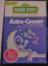 SESAME STREET Astro-Grover Counting, adding, Subtracting Game - $15.95