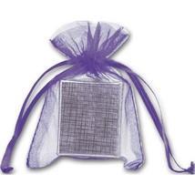 Purple Organdy Bags - 36 count - $8.00+