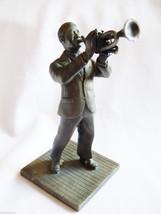 VTG 1975 FRANKLIN MINT FINE PEWTER STATUE FIGURINE THE JAZZ MAN 1916 - 1935 - $29.70