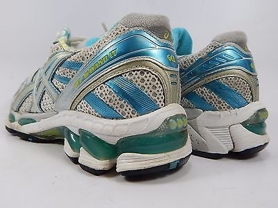 Asics Gel Kayano 17 Women's Running Shoes Size US 6 M (B) EU 37 White T150NA