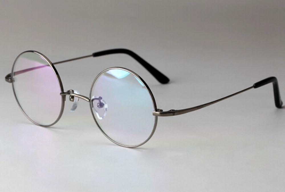 Eyeglasses Frame Titanium : Vintage Titanium Eyeglasses Frames Round Spectacles Frame ...