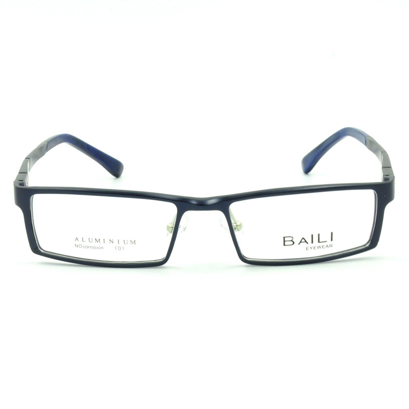 Eyeglass Frame Spring Hinge : New Mens Full Rim Rectangular Eyeglasses Frames Spring ...