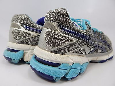 Asics GT 1000 Women's Running Shoes Size US 6.5 M (B) EU 37.5 Silver T2L6N
